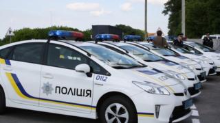 поліція, авто, київ, україна