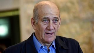 Ehud Olmert (Ifoto ya kera)