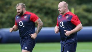 Joe Marler and Dan Cole