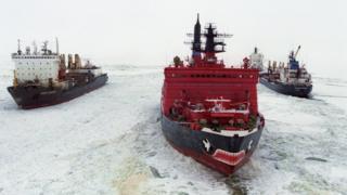 На Северном морском пути проще встретить ледокол, чем танкер или сухогруз
