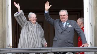 เจ้าชายเฮนริก และ สมเด็จพระราชินีนาถมาร์เกรเธอที่ 2 แห่งเดนมาร์ก