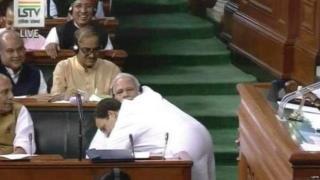 नरेंद्र मोदी राहुल गांधी