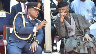 Air Marshal Abubakar na Osote onyeisiala Yemi Osinbajo