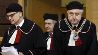 Judges of the Polish Constitutional Court. File photo