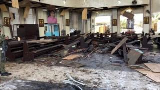 ระเบิดที่โบสถ์