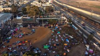 Abimukira i Tijuana muri Mexico