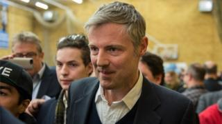 Zac Goldsmith leaves the count