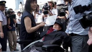 Japan's first severely disabled lawmakers join parliament