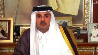 قطر کے امیر شیخ تمیم بن حماد ال ثانی