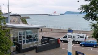 Fishguard ferry terminal