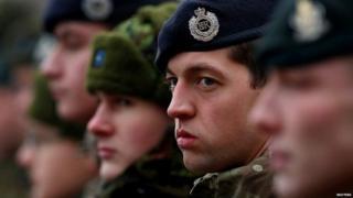 British troops in Latvia
