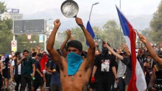 مظاهرات تشيلي