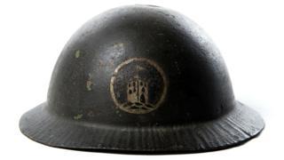 'Tower of London' Brodie helmet - WW1