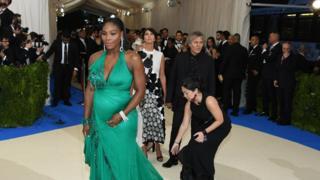 Serena Williams a annoncé en avril qu'elle était enceinte et qu'elle se retirait jusqu'à la fin de l'année