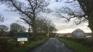 Oakford village