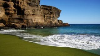 Bahía Mahana en Big Island de Hawái