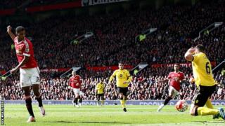 Marcus Rashford yinjirije Manchester United yatsinze Aston Villa