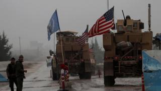 US forces in Manbij, 30 December