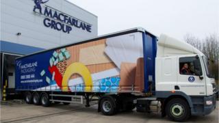 Macfarlane Group and truck