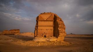 Qasr al-Farid tomb, Saudi Arabia