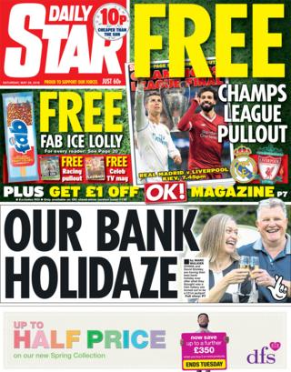 Daily Star Saturday