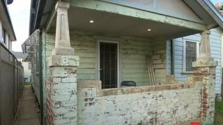 Mr Batterham and his family moved into the Newcastle home late last year and intended to renovate, Australian media said