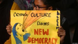 नागरिकता संशोधन क़ानून के ख़िलाफ़ हुए प्रदर्शन