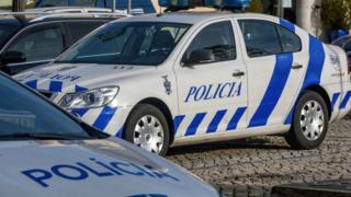 Portuguese police cars