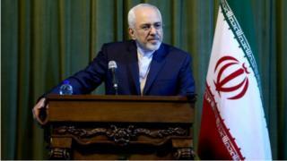 Wasiirka arrimaha dibadda ee Iraan, Javad Zarif