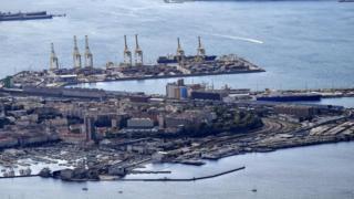 Trieste limanı