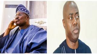 Abiola Ajimobi àti Seyi Makinde