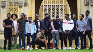 Photo of students from Cambridge University