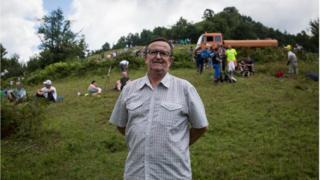Šaćirević na Kameničkom brdu kod Srebrenice, Marš Mira, 2018.
