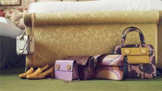Orla Kiely handbags and homeware