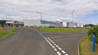 Riverside Retail Park in Coleraine