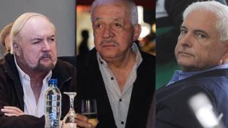 Carlos Pellas, Mario López y Ricardo Martinelli