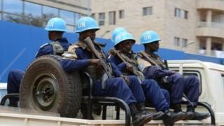 Ingabo za ONU ziri muri Centrafrika