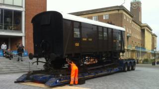 Edith Cavell's railway carriage