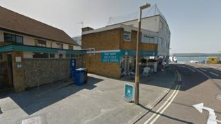 Sandbanks ferry terminal public toilets