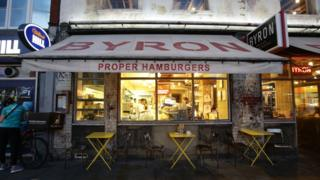 Byron Burger restaurant