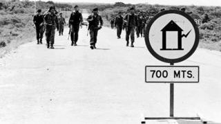 Tras recibir la alerta de los residentes de la zona, el Ejército venezolano se desplegó en la zona.