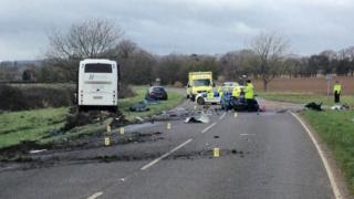 A272 crash near Petersfield