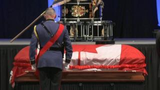 Funeral for Daniel Woodhall