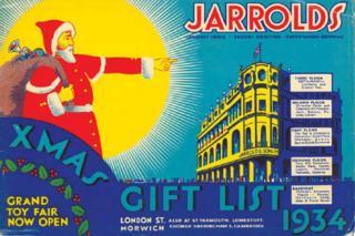 Jarrold Christmas advert, 1934