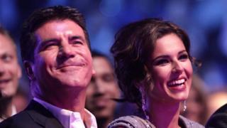 Cheryl and Simon Cowell