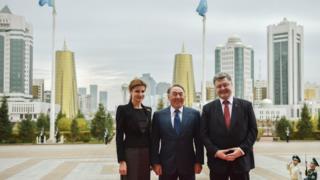 Порошенко та Назарбаев