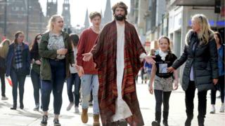 Jesus on Princes Street