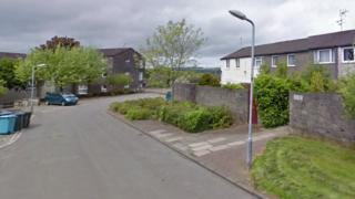 The man was attacked by the group in Laburnum Road