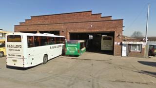 P&O Lloyd Coaches depot, Bagillt