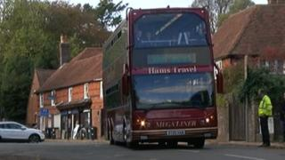 Hams Travel school bus